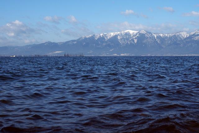 沖島からの風景
