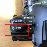 猫写真でC-AFやC-AF TRの使い方は?(オリンパスEM1 mark2)