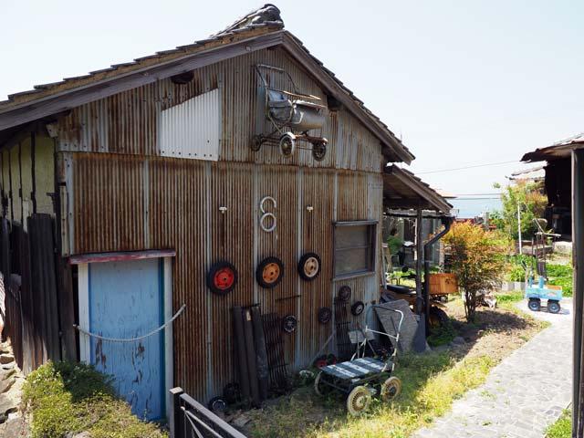 男木島のアートな民家